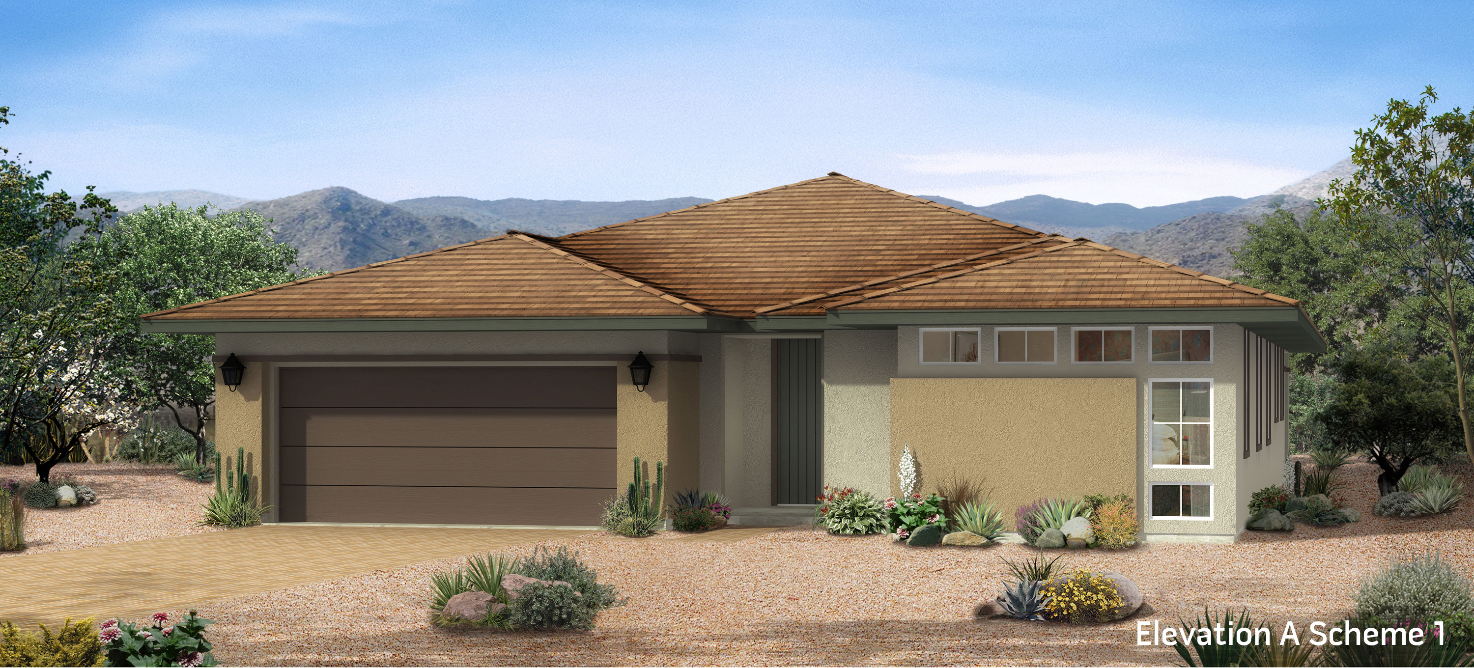 Single story model homes las vegas